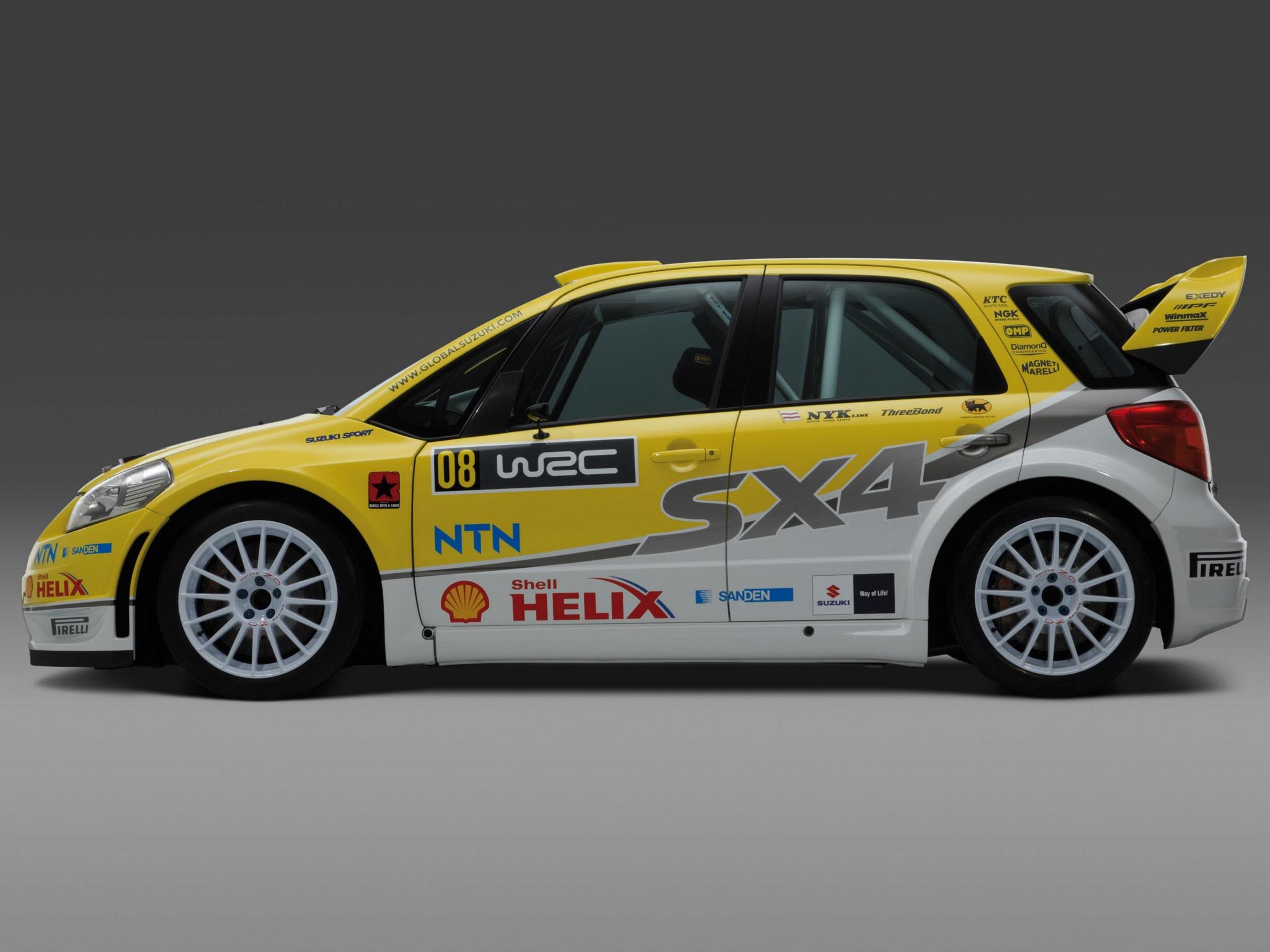 Suzuki Sx Wrc Specs