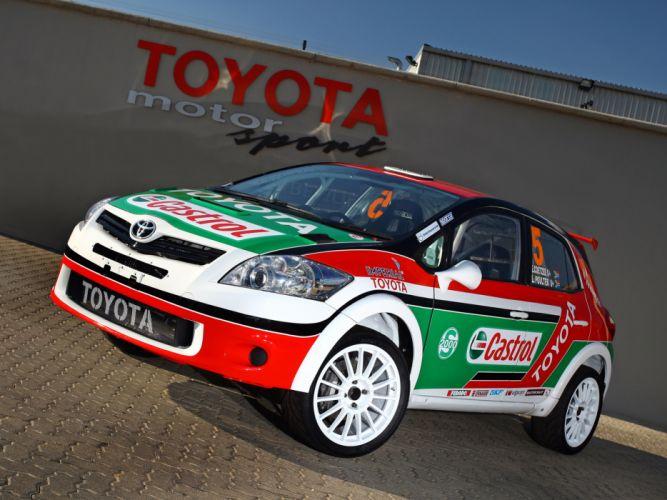 2010 Toyota Auris S2000 race racing f wallpaper