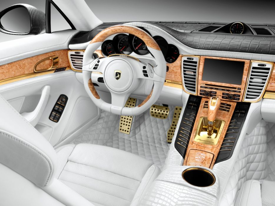 2011 Porsche Panamera Stingray GTR Limited Edition 970 interior wallpaper
