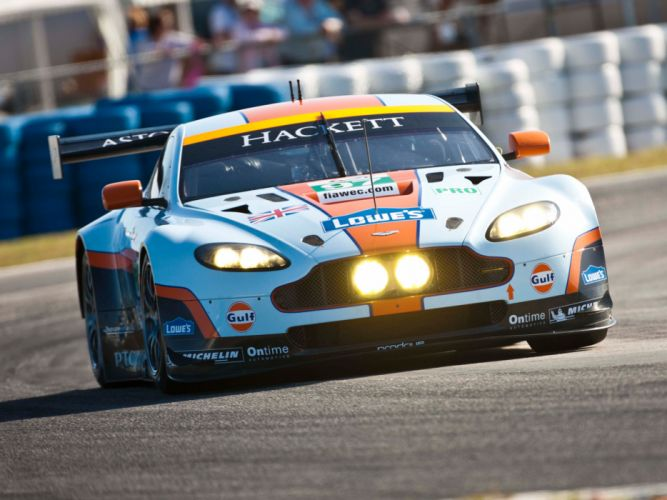 2012 Aston Martin V8 Vantage GTE race racing supercar supercars e wallpaper