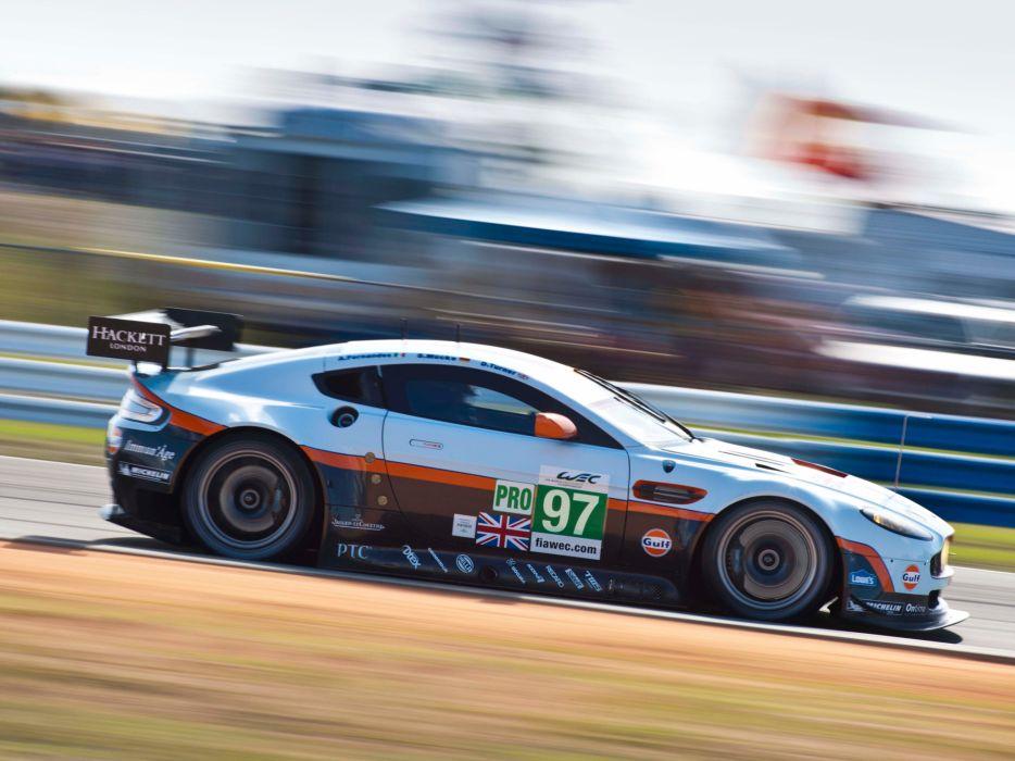 2012 Aston Martin V8 Vantage GTE race racing supercar supercars    t wallpaper