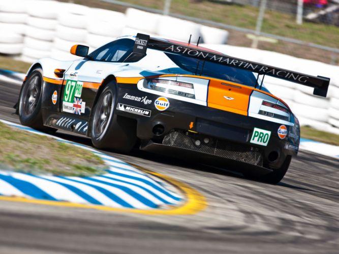 2012 Aston Martin V8 Vantage GTE race racing supercar supercars e wallpaper
