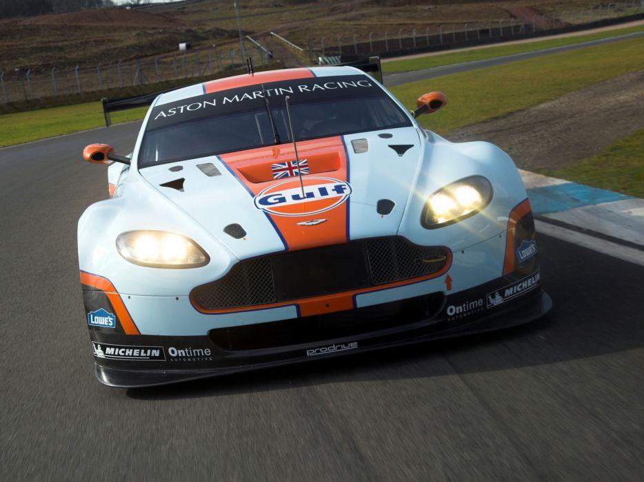 2012 Aston Martin V8 Vantage GTE race racing supercar supercars   f wallpaper