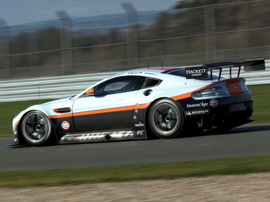 2012 Aston Martin V8 Vantage GTE race racing supercar supercars   fs wallpaper