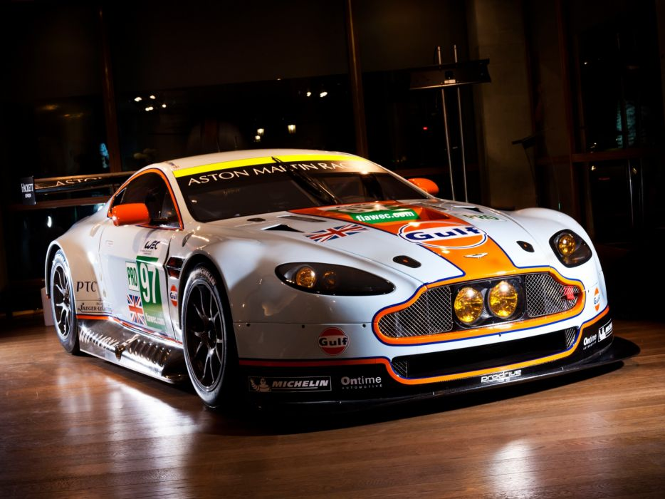 2012 Aston Martin V8 Vantage GTE race racing supercar supercars  g wallpaper
