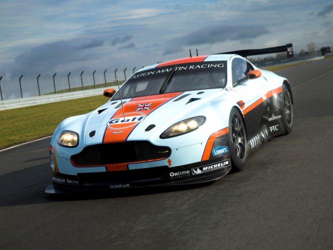 2012 Aston Martin V8 Vantage GTE race racing supercar supercars g wallpaper