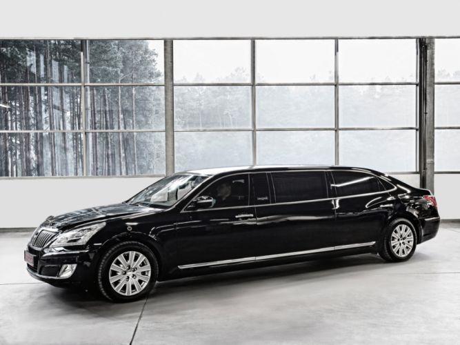 2012 Hyundai Equus Armored Stretch Limousine luxury transport wallpaper