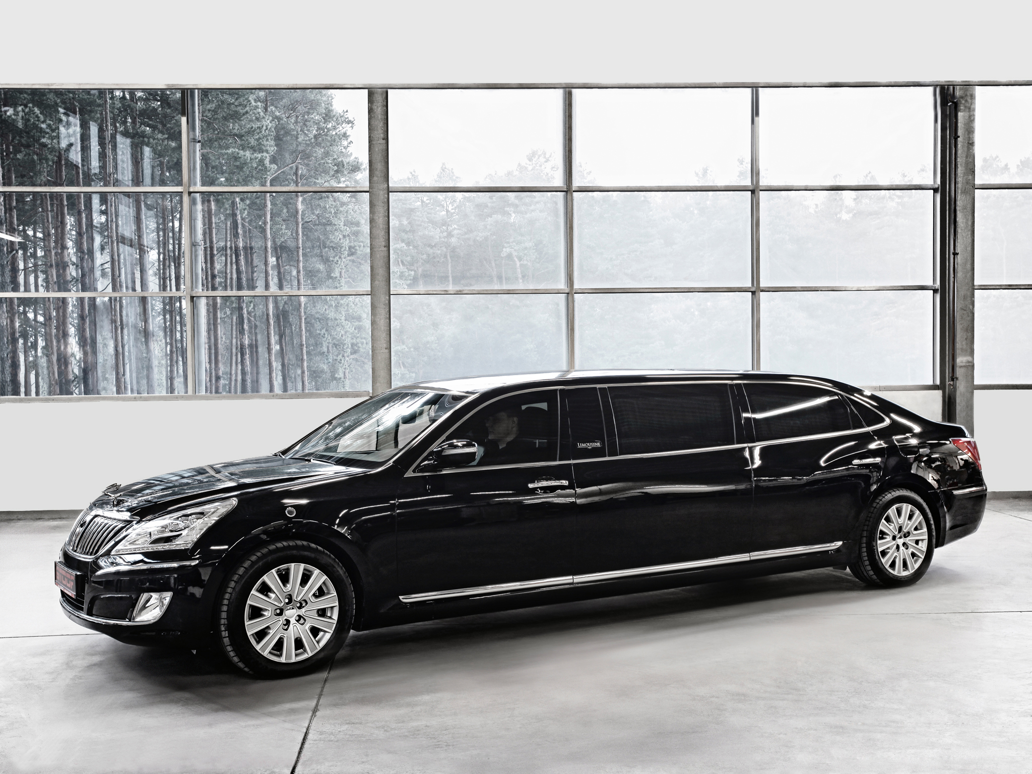2012 hyundai equus armored stretch limousine luxury transport wallpaper 2048x1536 115346