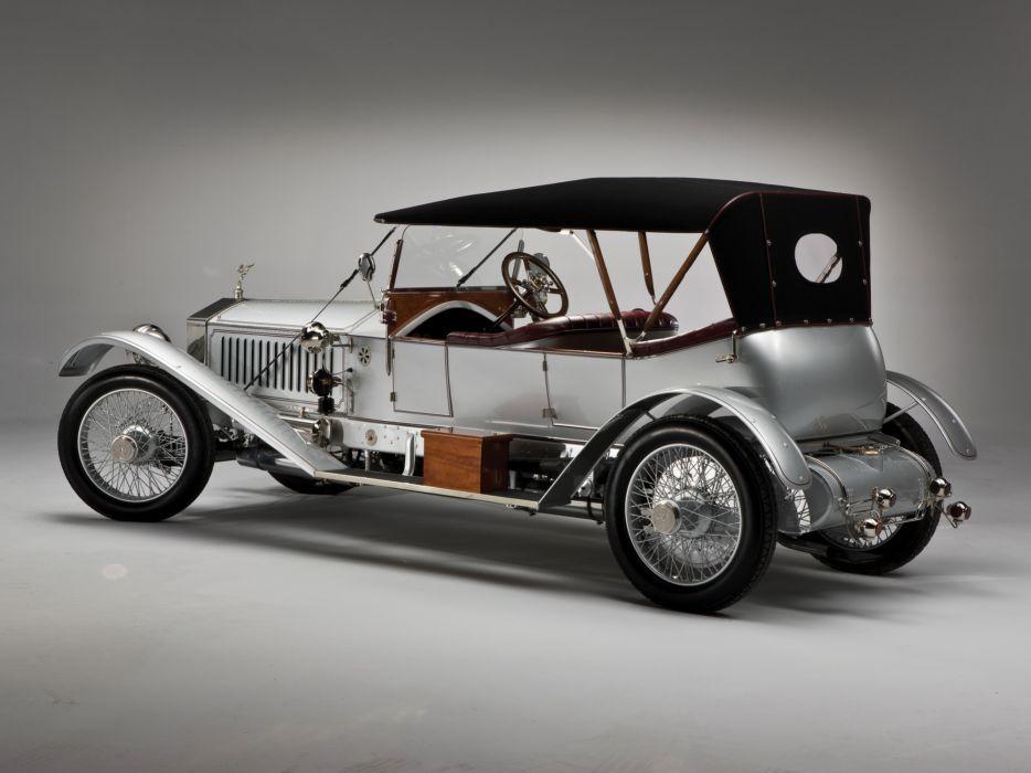 1915 Rolls Royce Silver Ghost L-E Tourer luxury retro     f wallpaper