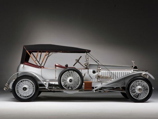 1915 Rolls Royce Silver Ghost L-E Tourer luxury retro wheel wheels g wallpaper