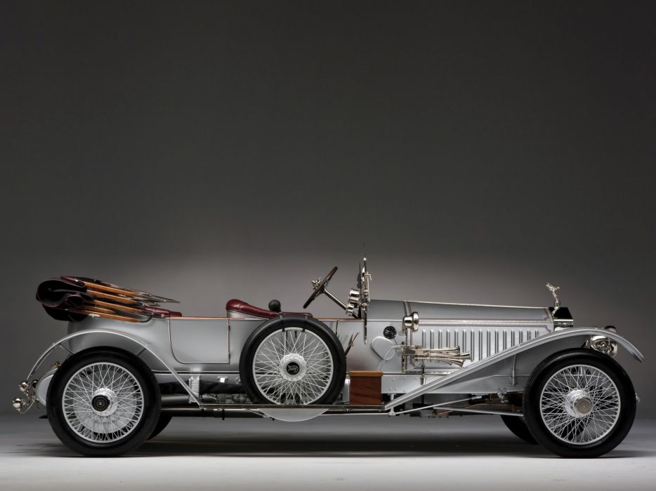 1915 Rolls Royce Silver Ghost L-E Tourer luxury retro wheel wheels wallpaper