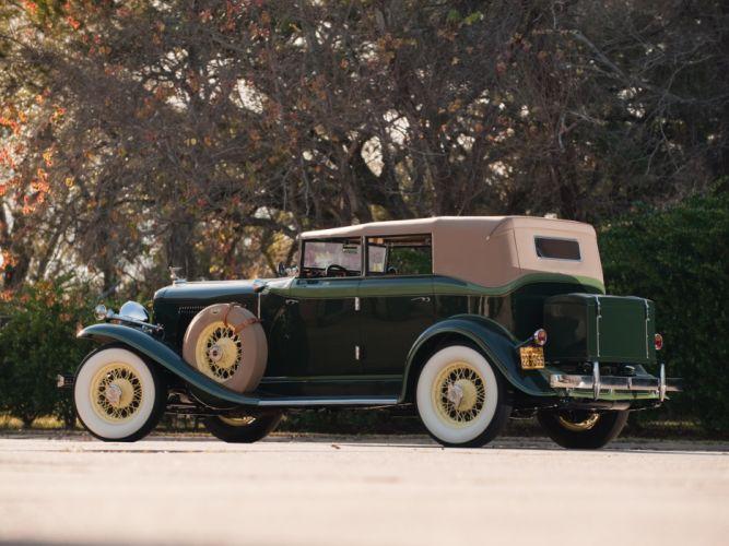 1932 Auburn 8-100A Custom Phaeton retro luxury h wallpaper