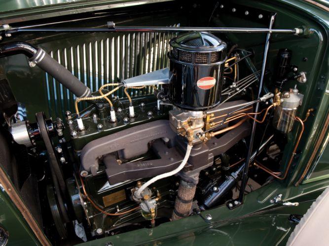 1932 Auburn 8-100A Custom Phaeton retro luxury engine engines wallpaper