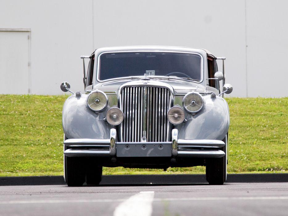 1948 Jaguar Mark-V Drophead Coupe luxury retro  f wallpaper