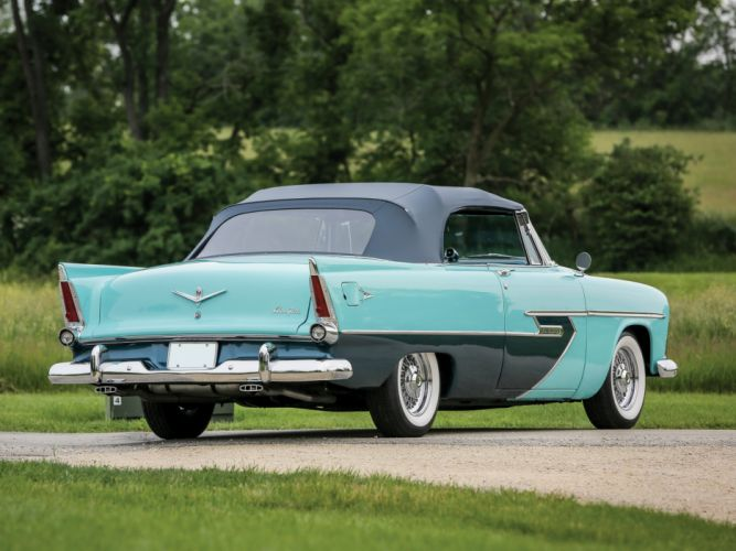 1956 Plymouth Belvedere Convertible P29-3 retro luxury g wallpaper