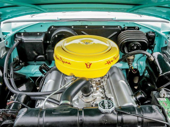 1956 Plymouth Belvedere Convertible P29-3 retro luxury engine engines wallpaper