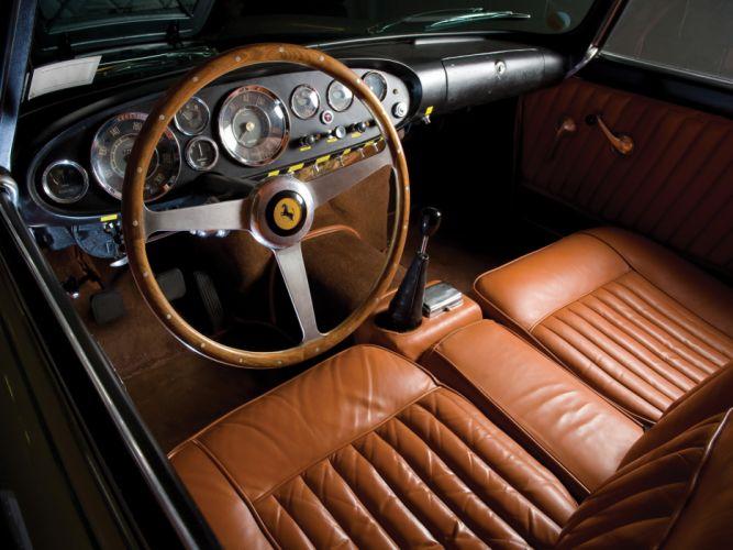 1957 Ferrari 250 G-T Ellena supercar supercars classic interior g wallpaper