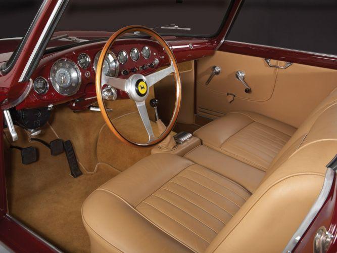 1957 Ferrari 250 G-T Ellena supercar supercars classic interior r wallpaper
