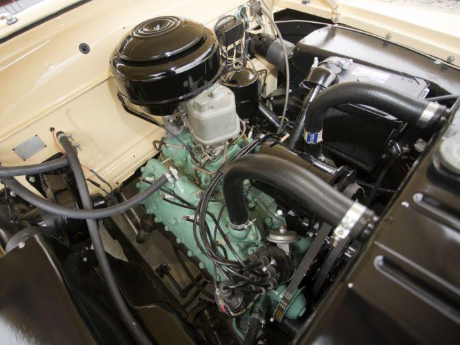 1949 Mercury Eight StationWagon retro engine engines wallpaper