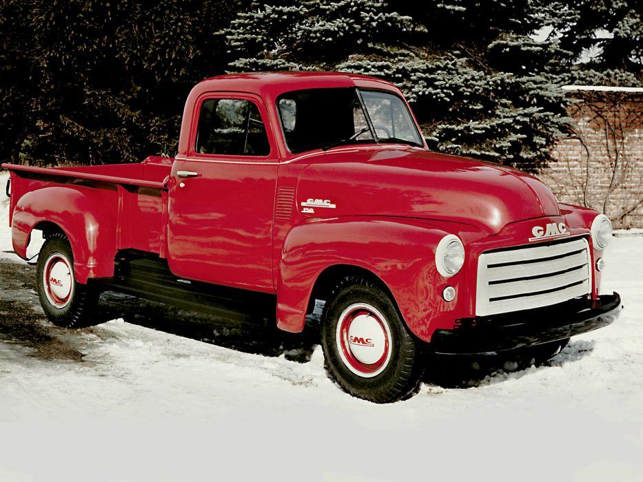 1951 GMC 152-22 Pickup Truck retro wallpaper