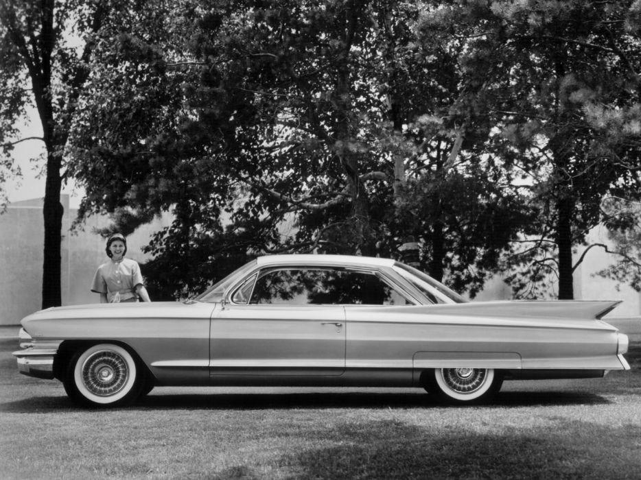 1961 Cadillac Coupe de Ville luxury classic f wallpaper