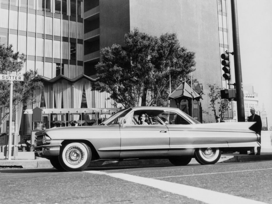 1961 Cadillac Coupe de Ville luxury classic wallpaper