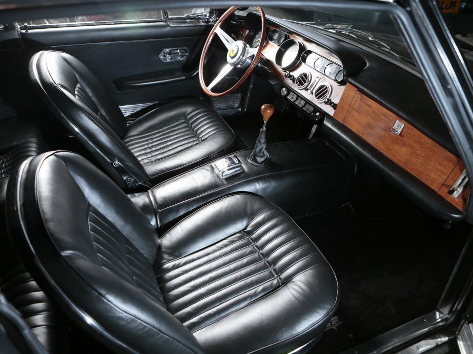 1963 Ferrari 330 G-T 2 +2 Series-I supercar supercars interior      g wallpaper