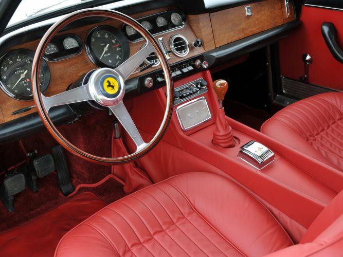 1963 Ferrari 330 G-T 2 +2 Series-I supercar supercars interior wallpaper