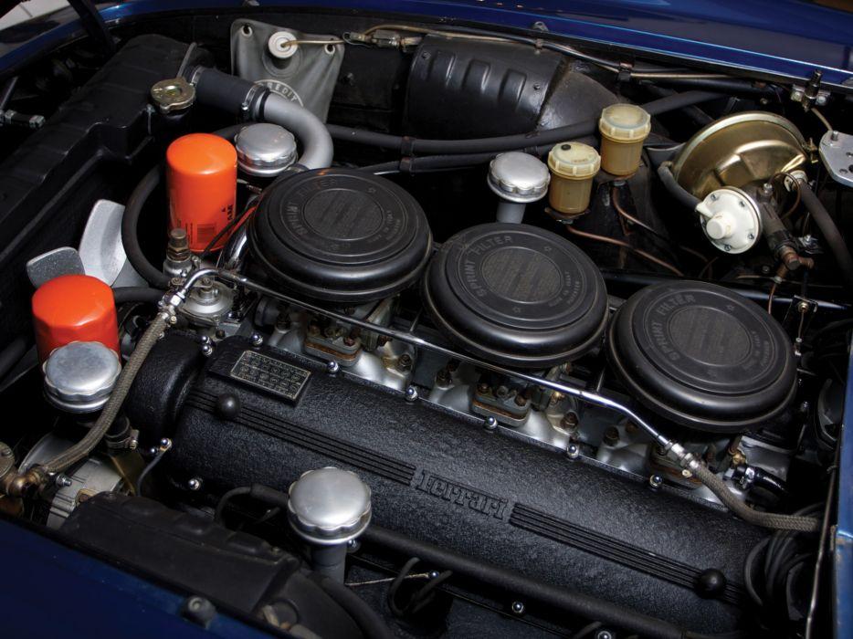 1964 Ferrari 500 Superfast Series-I UK-spec supercar supercars classic engine engines wallpaper