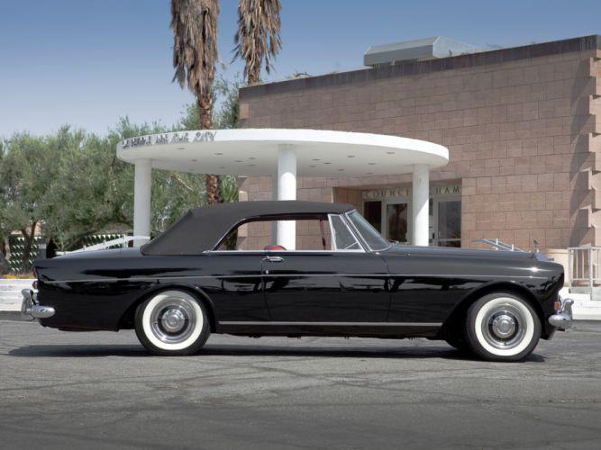 1966 Rolls Royce Silver Cloud Mulliner Park Ward Drophead Coupe III luxury classic h wallpaper