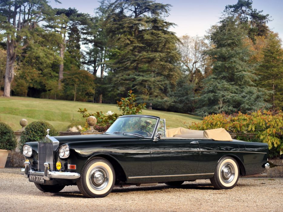 1966 Rolls Royce Silver Cloud Mulliner Park Ward Drophead Coupe III luxury classic    gd wallpaper