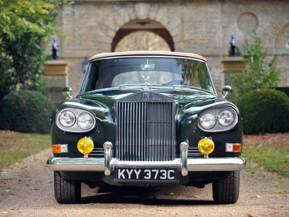1966 Rolls Royce Silver Cloud Mulliner Park Ward Drophead Coupe III luxury classic    gw wallpaper