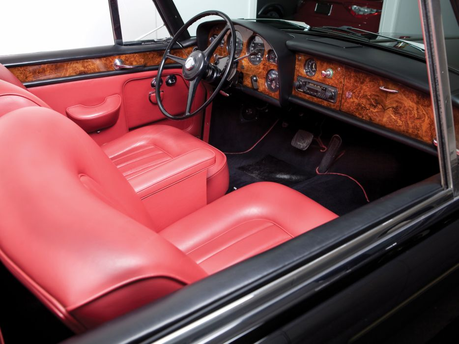 1966 Rolls Royce Silver Cloud Mulliner Park Ward Drophead Coupe III luxury classic interior  g wallpaper
