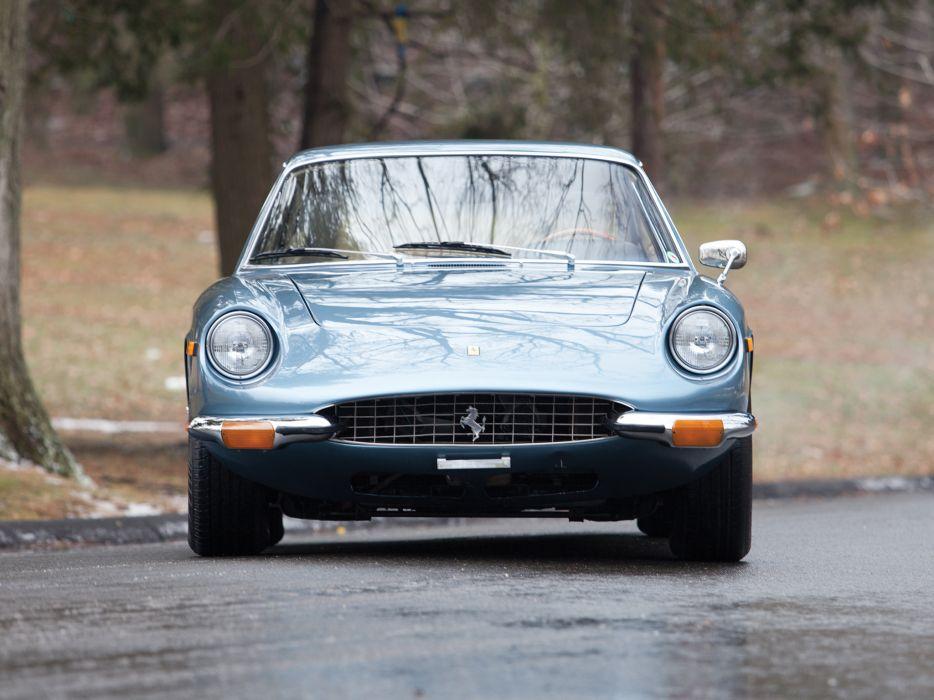 1968 Ferrari 365 G-T 2+2 US-spec supercar supercars classic     g wallpaper