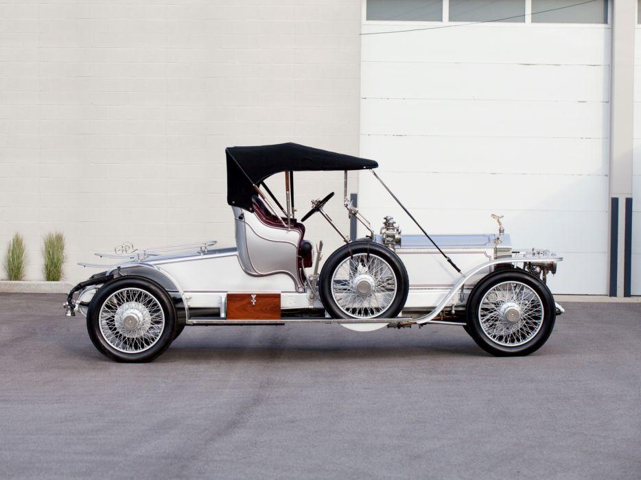 1911 Rolls Royce Silver Ghost 40-50 Roadster Wilkinson luxury retro  f wallpaper