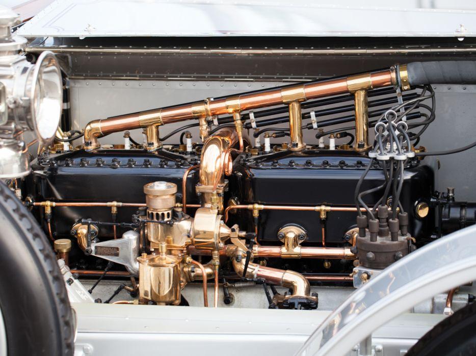 1911 Rolls Royce Silver Ghost 40-50 Roadster Wilkinson luxury retro engine engines wallpaper