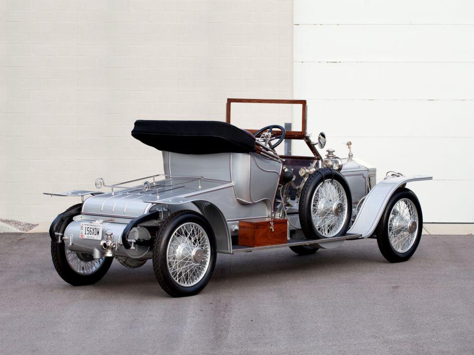1911 Rolls Royce Silver Ghost 40-50 Roadster Wilkinson luxury retro g wallpaper