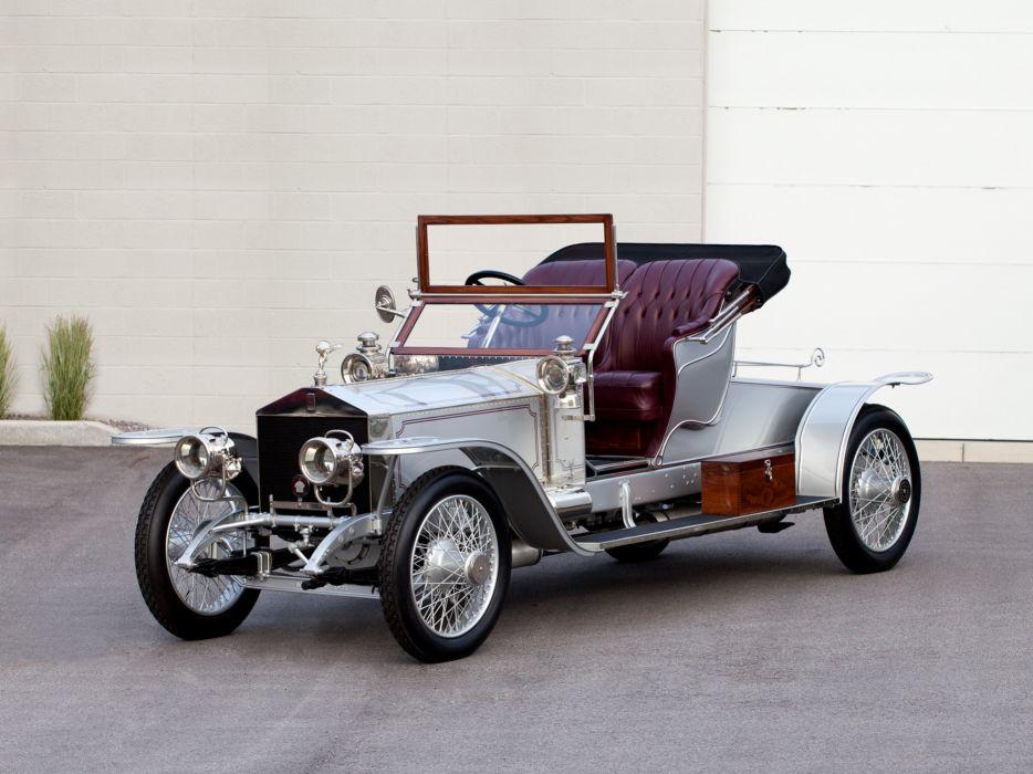1911 Rolls Royce Silver Ghost 40-50 Roadster Wilkinson luxury retro wallpaper