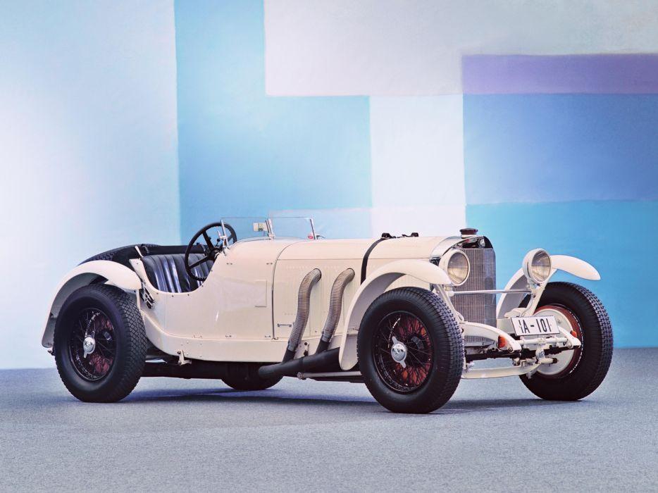 1928 Mercedes Benz 720 SSK race racing retro       g wallpaper