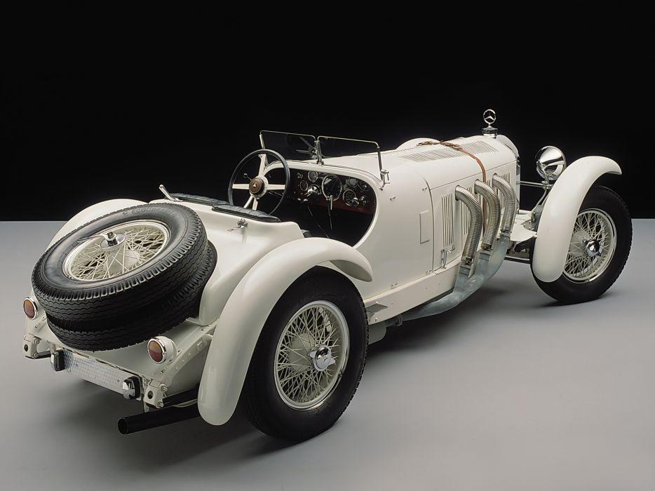 1928 Mercedes Benz 720 SSK race racing retro wheel wheels wallpaper
