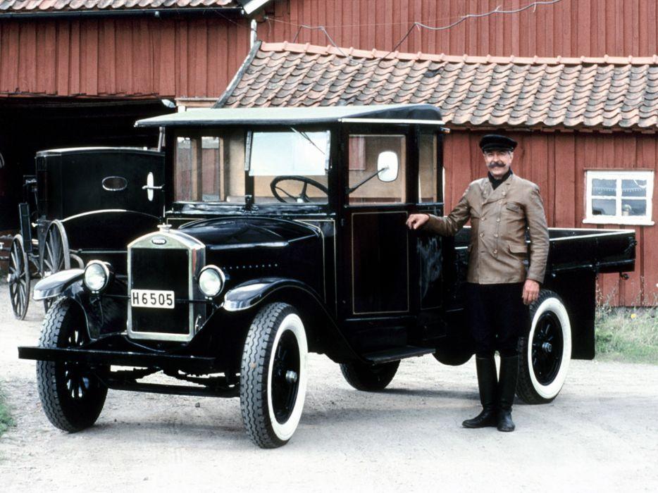 1928 Volvo Truck Series-2 retro   f wallpaper