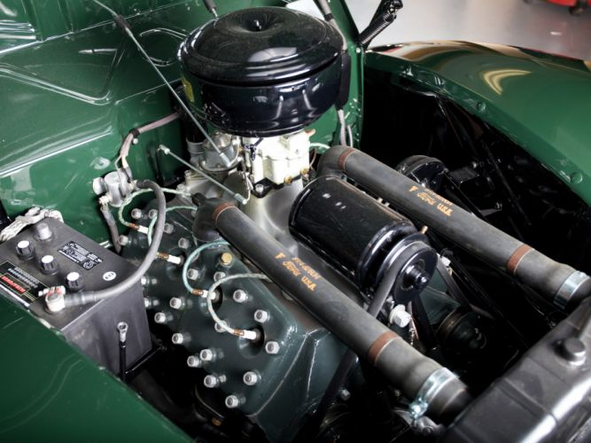1939 Ford V8 Deluxe Convertible Coupe retro v-8 engine engines wallpaper