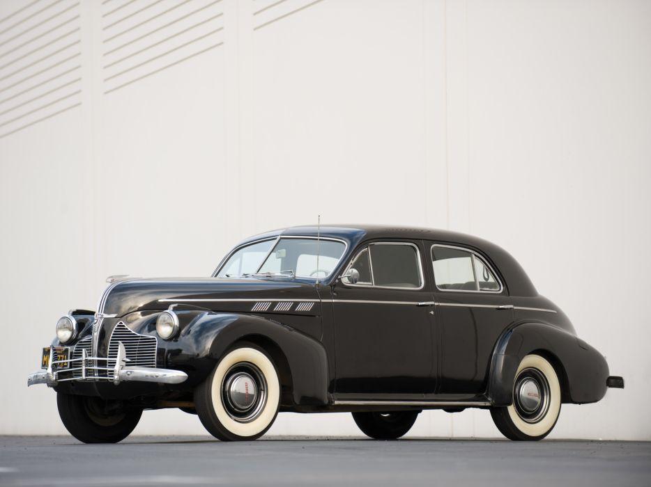 1940 Pontiac Torpedo Eight Touring Sedan retro wallpaper