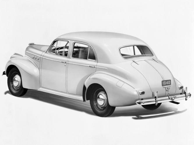 1940 Pontiac Torpedo Eight Touring Sedan retro g wallpaper