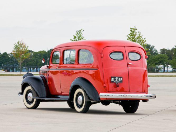 1946 Chevrolet Carryall Suburban retro truck gd wallpaper