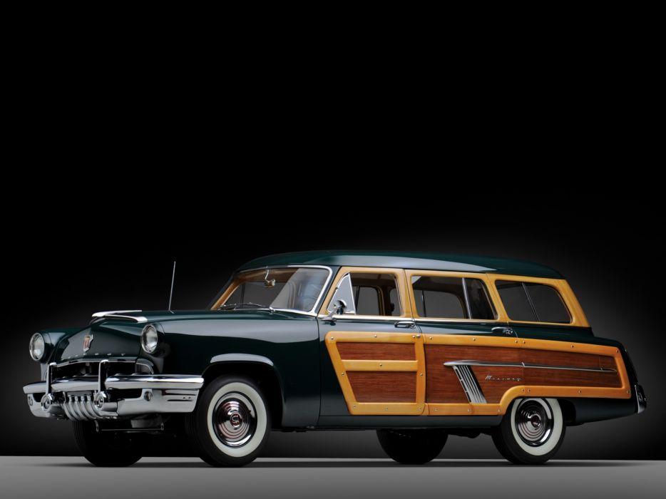 1952 Mercury Custom StationWagon retro  f wallpaper