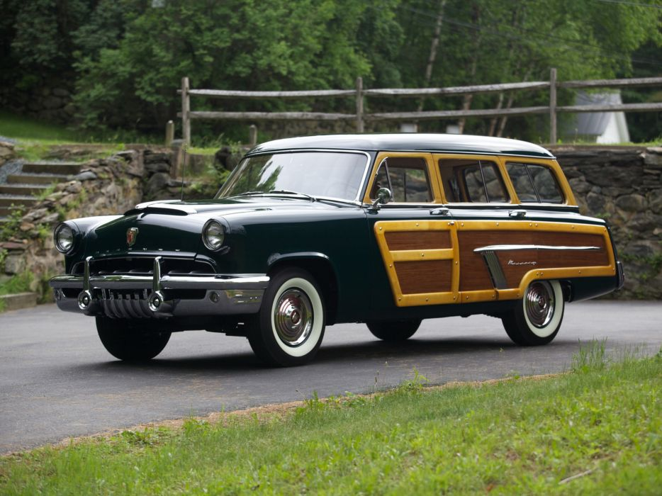 1952 Mercury Custom StationWagon retro m wallpaper