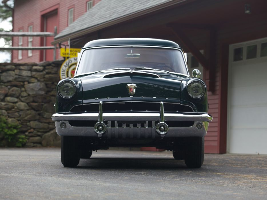 1952 Mercury Custom StationWagon retro y wallpaper