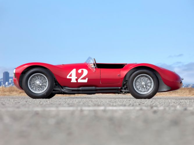 1953 Maserati A6G C-S Fantuzzi race racing supercar supercars retro f wallpaper