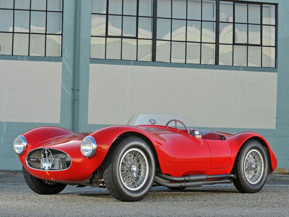 1953 Maserati A6G C-S Fantuzzi race racing supercar supercars retro    fd wallpaper